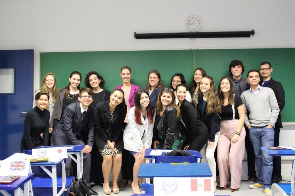 foto de Colégio Villa Lobos promove 6ª edição do VillaONU em Amparo