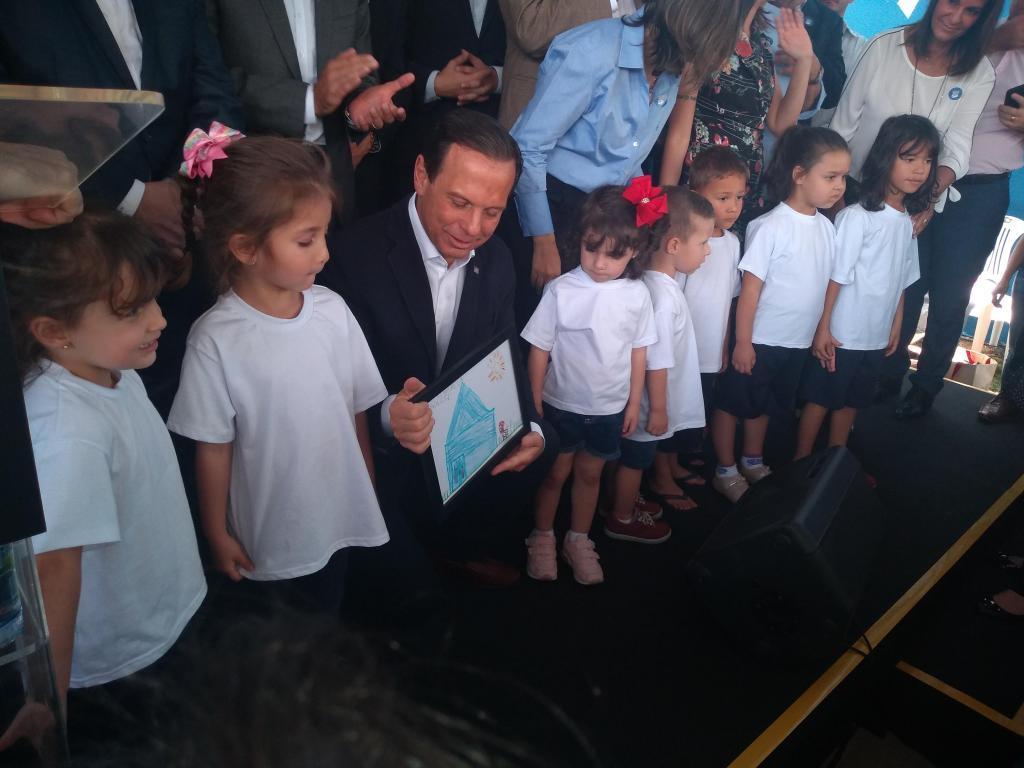foto de Governador João Doria inaugura creche-escola em Amparo