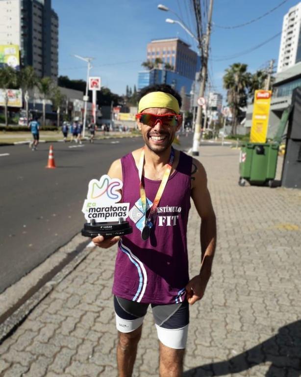 foto de Dupla conquista medalha de prata na 5ª Maratona de Campinas