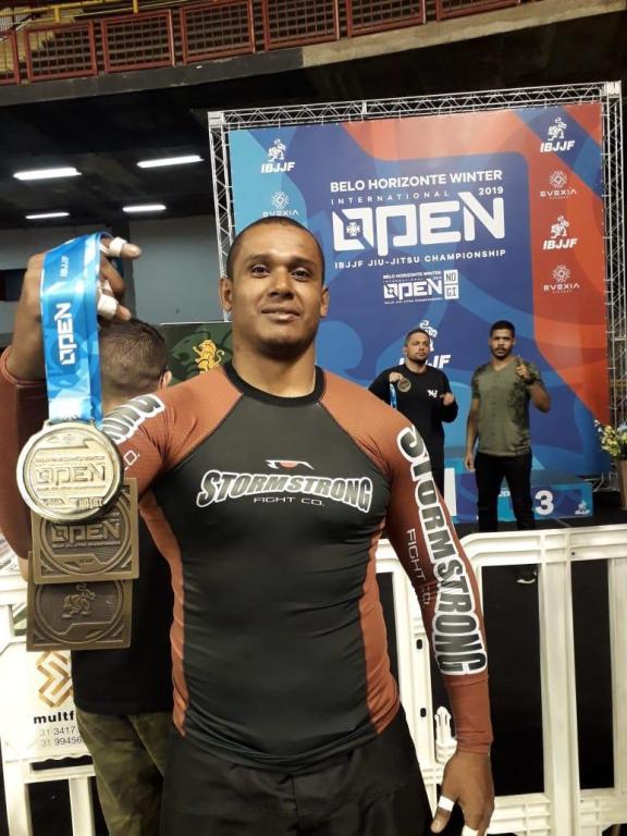 foto de Amparense conquista três medalhas no BH Winter Open de Jiu Jitsu