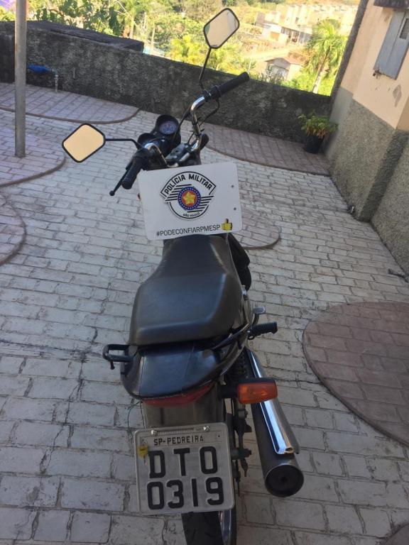 foto de Homem é preso por receptação de motocicleta roubada