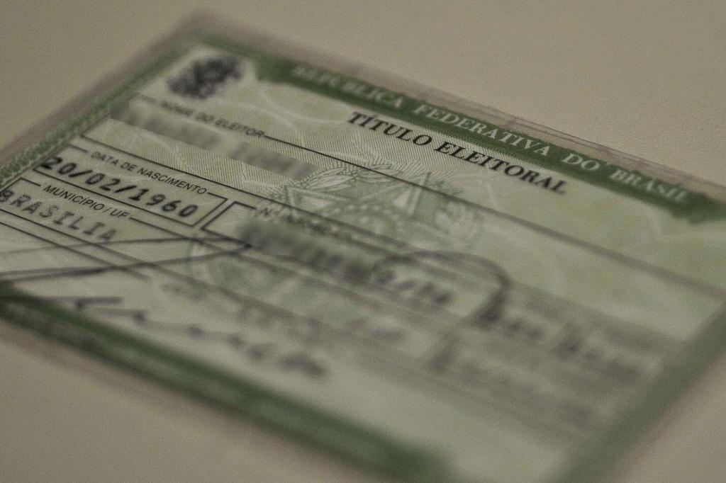 foto de 65,1% dos eleitores de Amparo já fizeram cadastramento biométrico