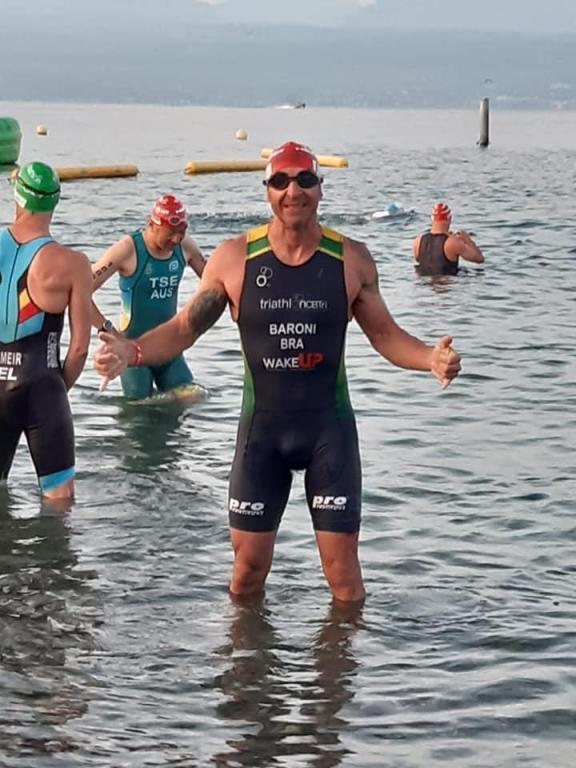 foto de André Nora conquista top 100 no Mundial de Triathlon na Suíça