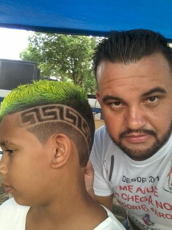 foto de ONG vai promover corte de cabelo de crianças em troca de alimentos