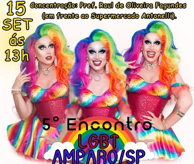 foto de 5º Encontro LGBT de Amparo será realizado no domingo