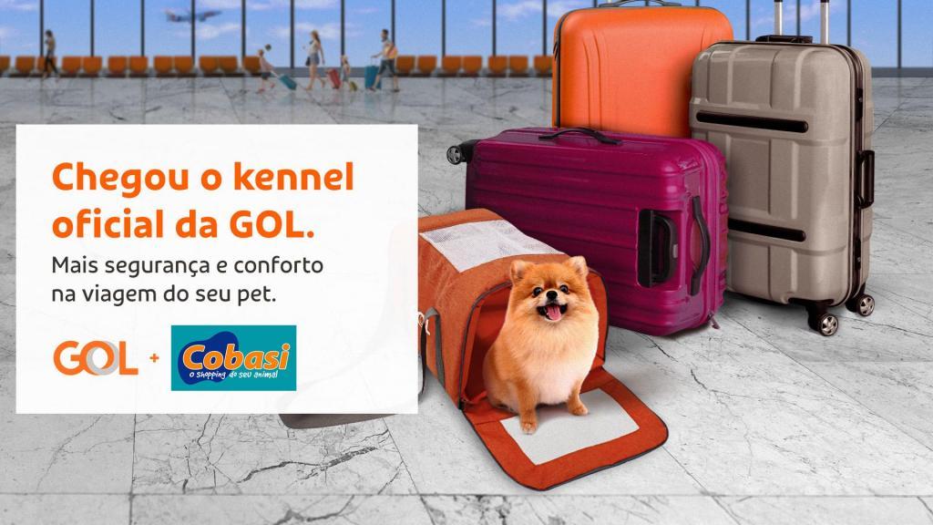 foto de GOL disponibiliza produto exclusivo de viagem para animais de estimação
