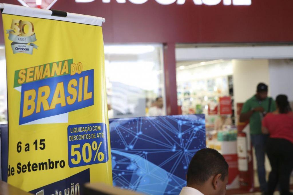 foto de Vendas aumentam 12% em quatro dias na Semana do Brasil