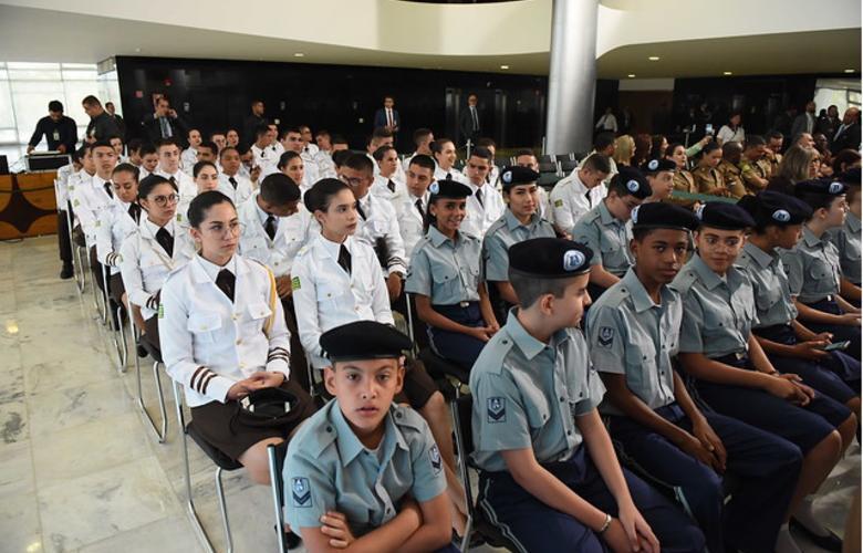 foto de Escolas têm até 27 de setembro para mostrarem interesse em gestão cívico-militar