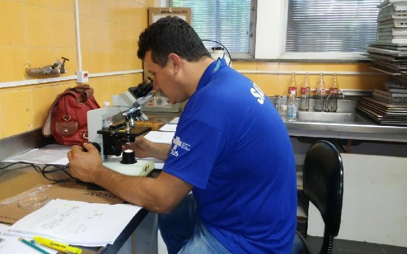 foto de Serra Negra adquire microscópio para identificação de larvas de mosquitos transmissões de doenças