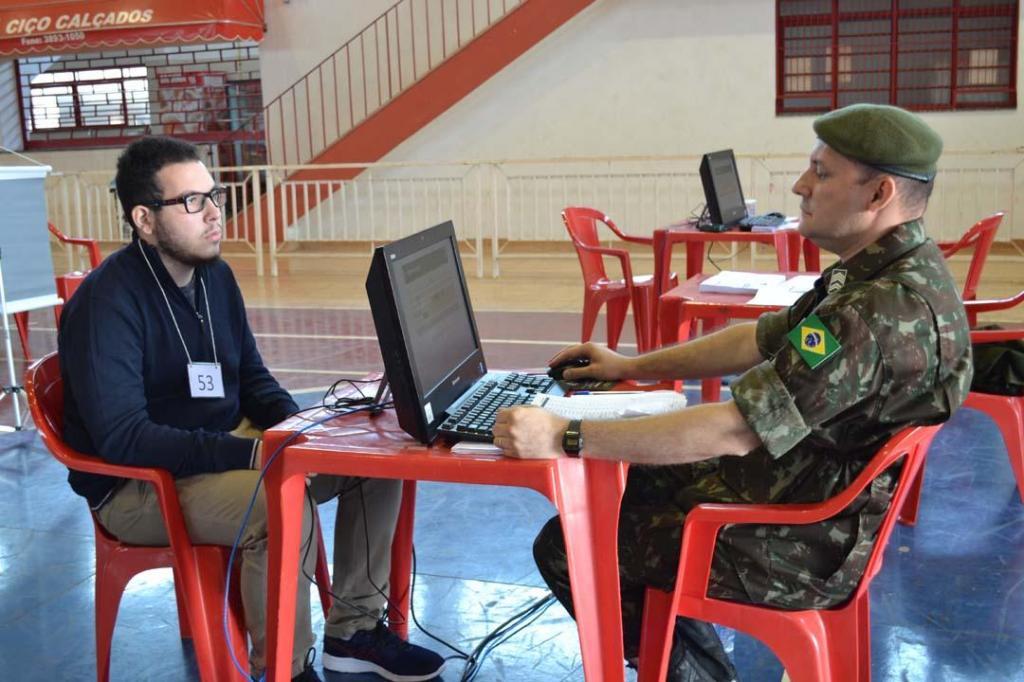foto de Junta Militar realizou Seleção Geral dos Alistados para o Tiro de Guerra de Pedreira