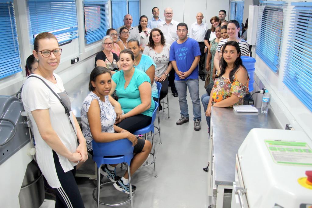 foto de Escola Móvel do Senai inicia cursos gratuitos em Morungaba