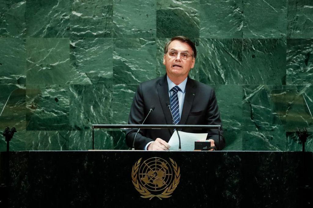 foto de ONU: socialismo e religião são destaques no discurso de Bolsonaro