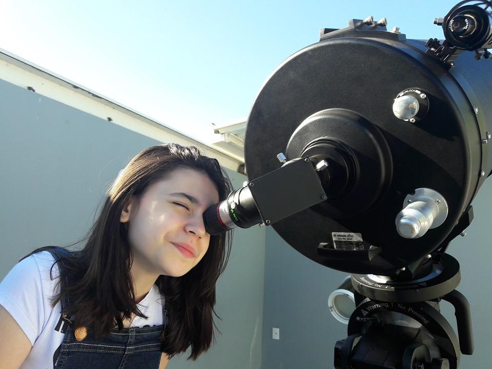 foto de Ainda é possível observar Saturno e Júpiter no Polo Astronômico de Amparo