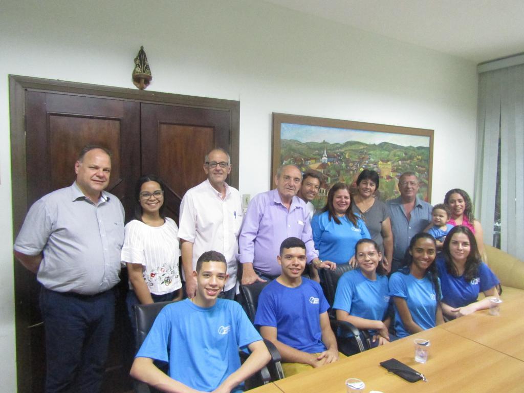 foto de Adolescentes do Programa Jovem Aprendiz iniciam trabalho na Prefeitura