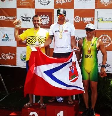 foto de André Nora vence prova de triathlon em Mogi Mirim
