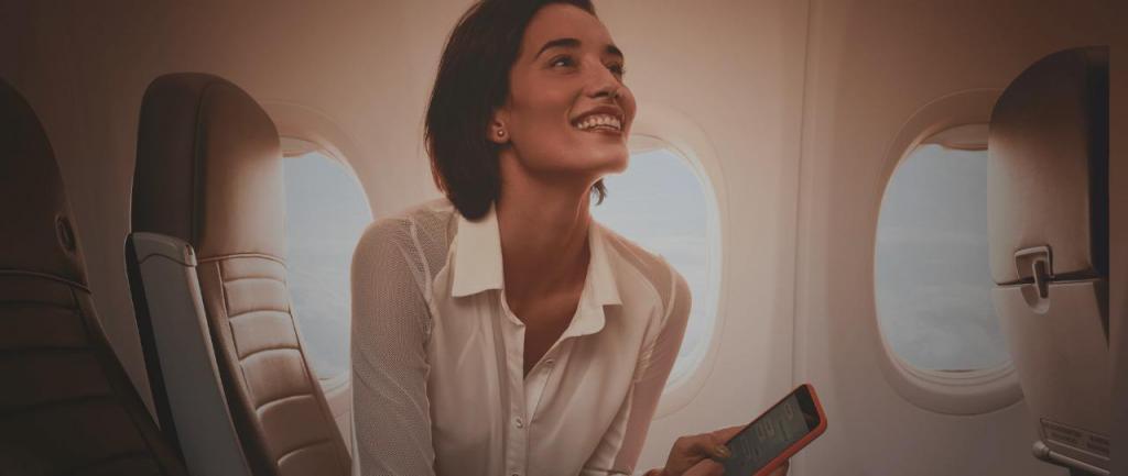 foto de GOL completa 3 anos de internet a bordo em seus voos