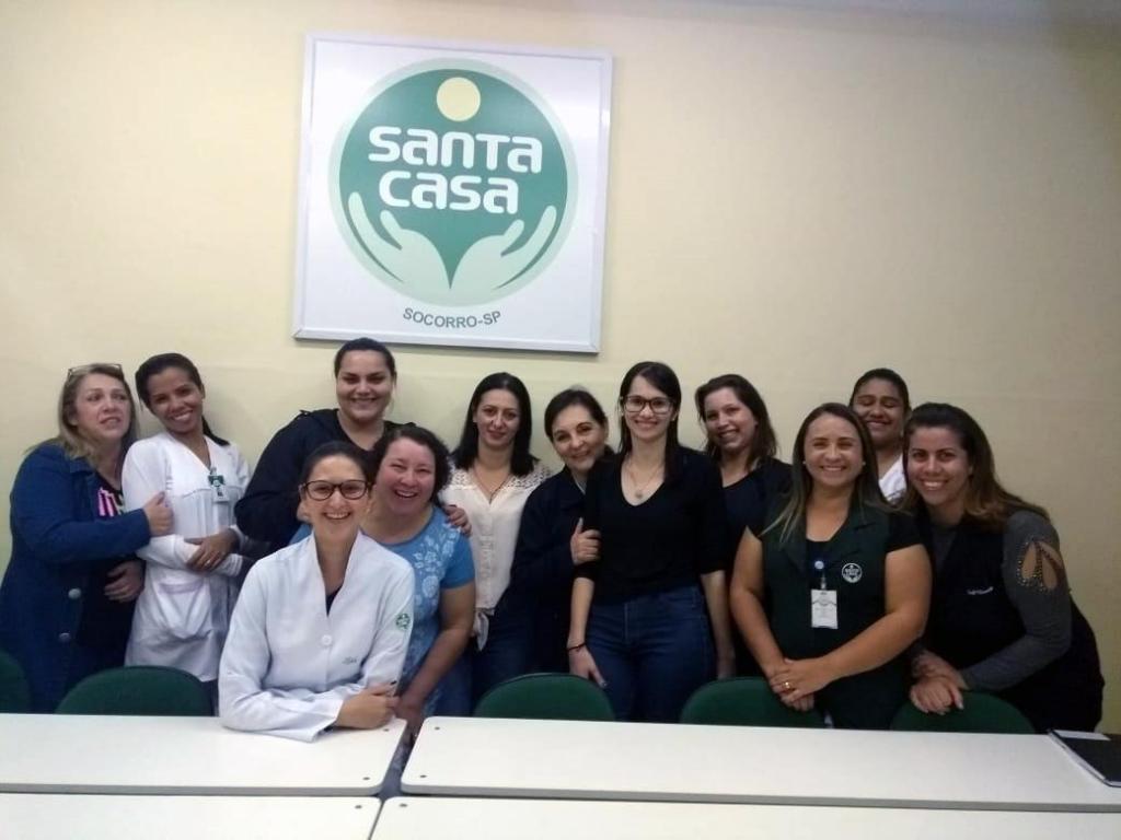 foto de Equipe de enfermagem da Santa Casa de Socorro participa de mais duas edições do Projeto Educação Continuada