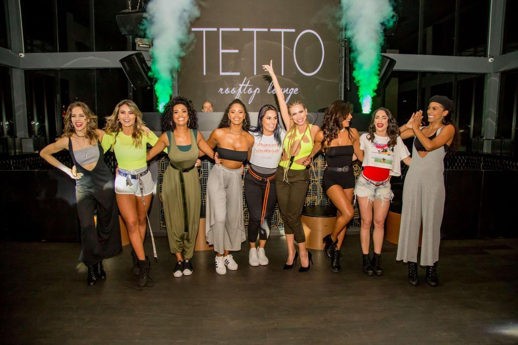 foto de Evento de lançamento da grife de Erika Schneider reúne bailarinas do Faustão em São Paulo