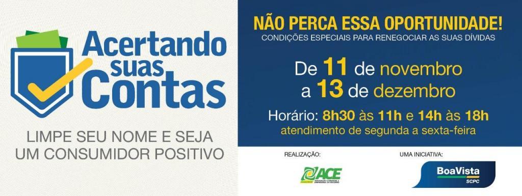 foto de ACE Socorro e Boa Vista SCPC lançam a campanha Acertando Suas Contas