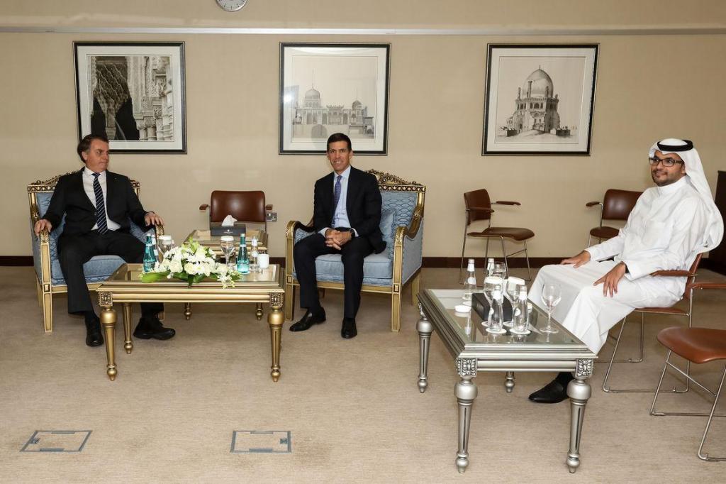 foto de Bolsonaro: fundo soberano árabe deve elevar investimento no Brasil