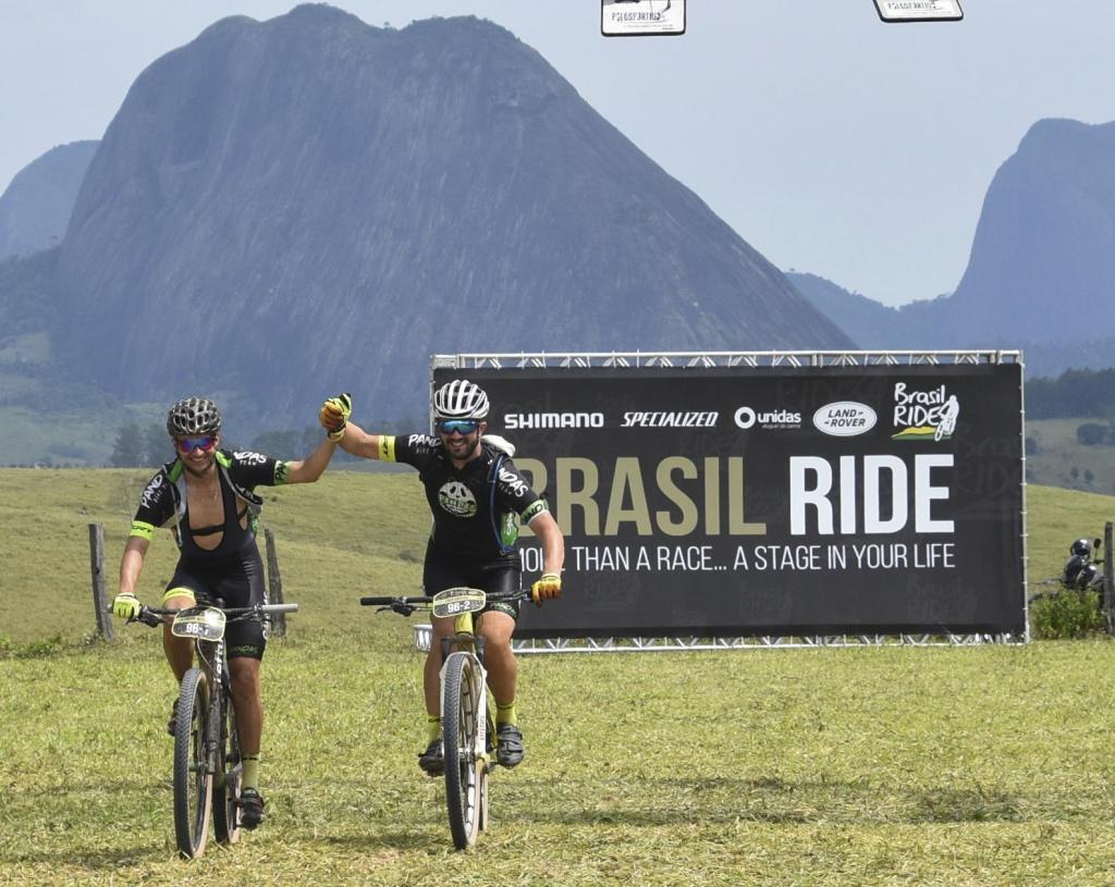 foto de Ciclistas de Amparo competiram na Bahia