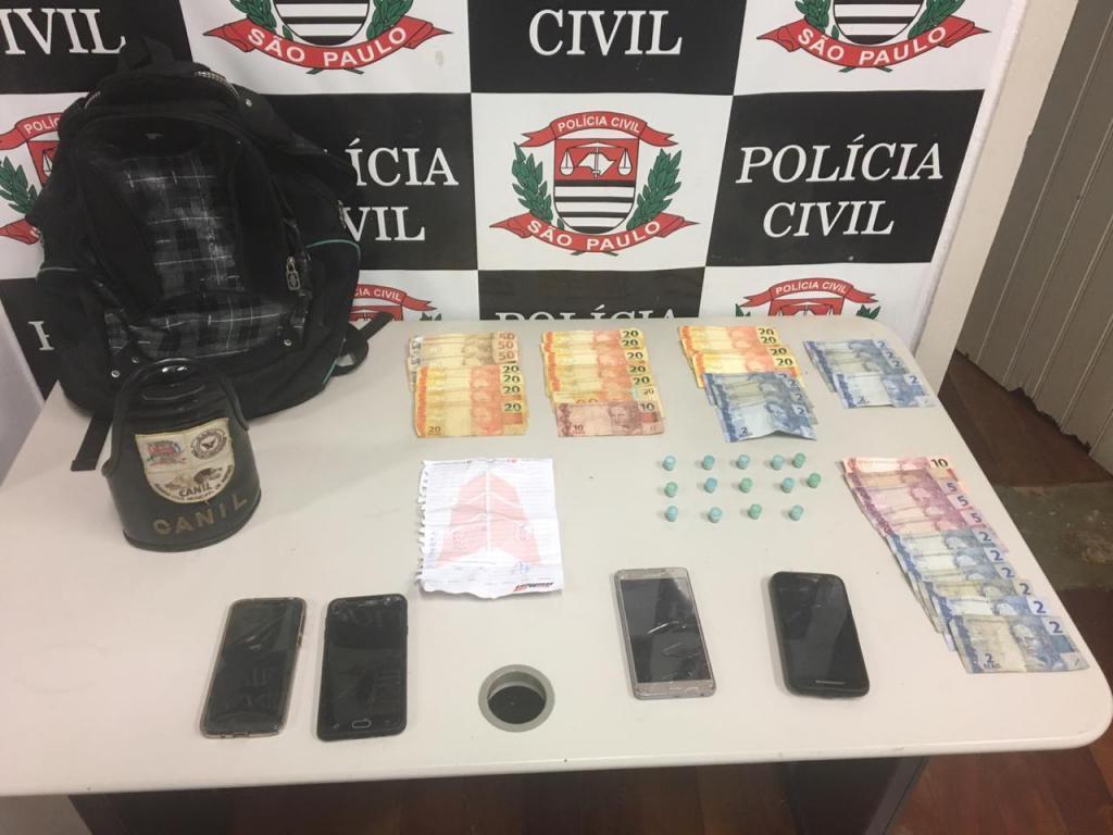 foto de Operação conjunta prende três e apreende um adolescente por tráfico de drogas
