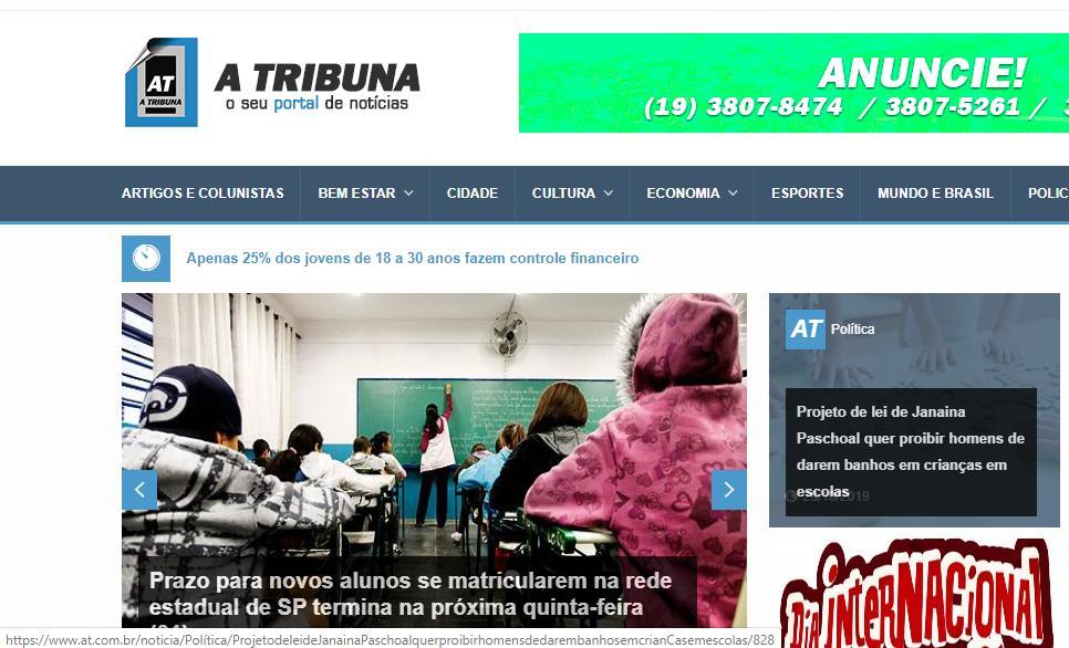 foto de Portal de notícia de A Tribuna ganha novo formato