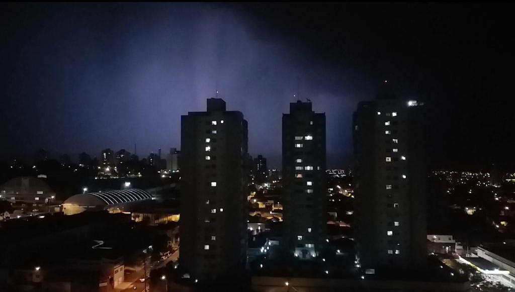 foto de Piracicaba é atingida por 840 raios em oito horas e chuva deve continuar, segundo Inpe