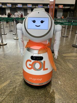 foto de GOL lança primeiro robô de atendimento ao Cliente da América Latina
