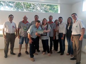 foto de Comissão do 5º Almoço das Lavras de Cima realiza a doação dos R$ 29,6 mil arrecadados para a Santa Casa de Socorro