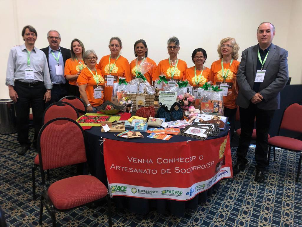 foto de Núcleo de Artesanato da ACE Socorro apresenta seu Projeto de Inovação e Competitividade no 19º Congresso da Facesp
