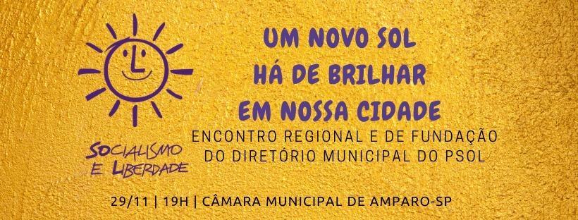 foto de PSOL vai promover encontro em Amparo