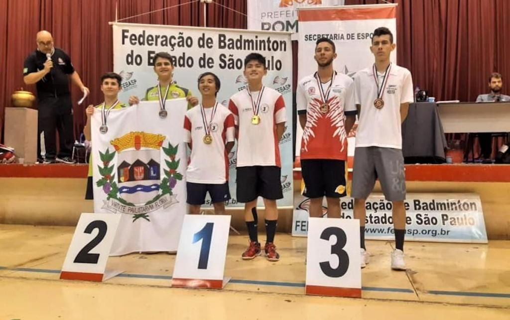 foto de Serra Negra é vice na categoria dupla e bronze em equipe nos Jogos Abertos