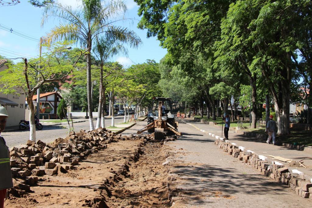 foto de Prefeitura de Morungaba inicia obras de pavimentação da Avenida José Frare