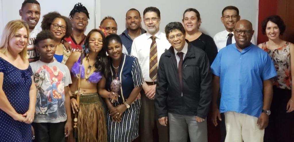 foto de Coordenadora de Políticas para a População Negra e Indígena do Estado de São Paulo visitou Amparo