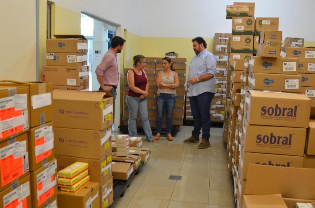 foto de Prefeitura de Amparo investe mais de R$ 3 milhões em remédios para Postos de Saúde