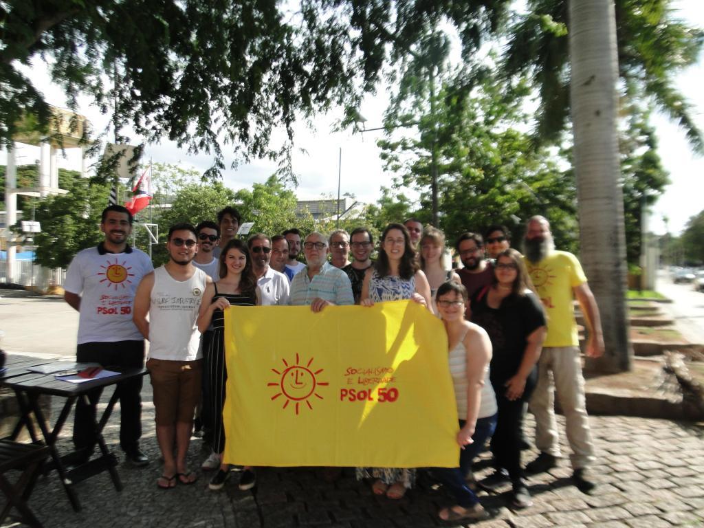 foto de PSOL institui diretório em Amparo