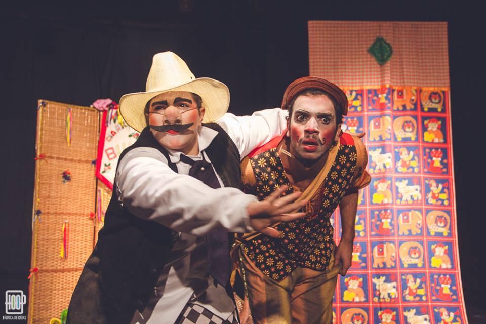 foto de A Peleja de Zé do Brejo e do Boi Pintadinho na Casa do Teatro