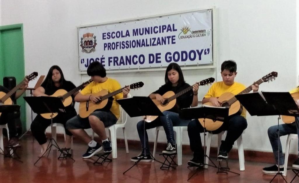 foto de Alunos do 'Projeto Guri' fazem audição de encerramento semestral em Serra Negra