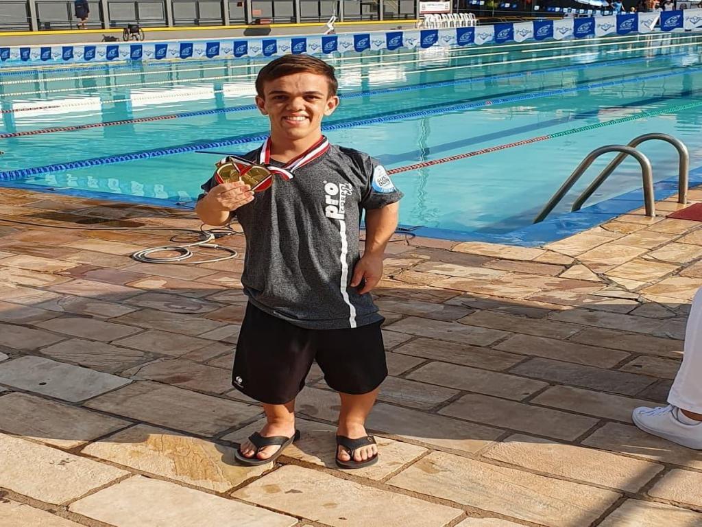 foto de Leandro Chinaglia conquista duas medalhas em Marília