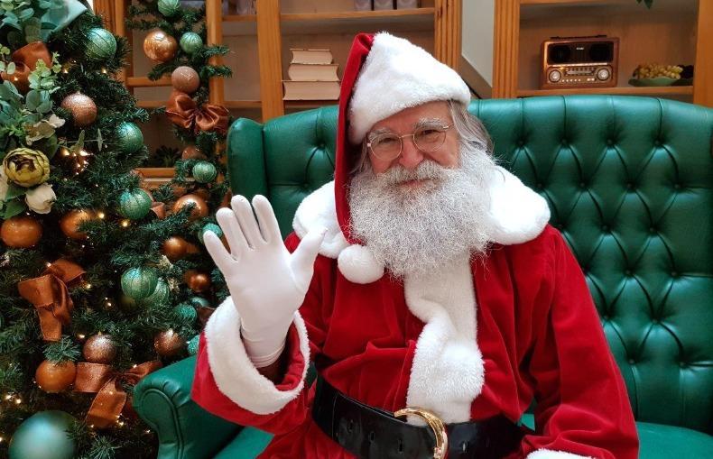 foto de Papai Noel vai estar na Praça Pádua Salles neste sábado