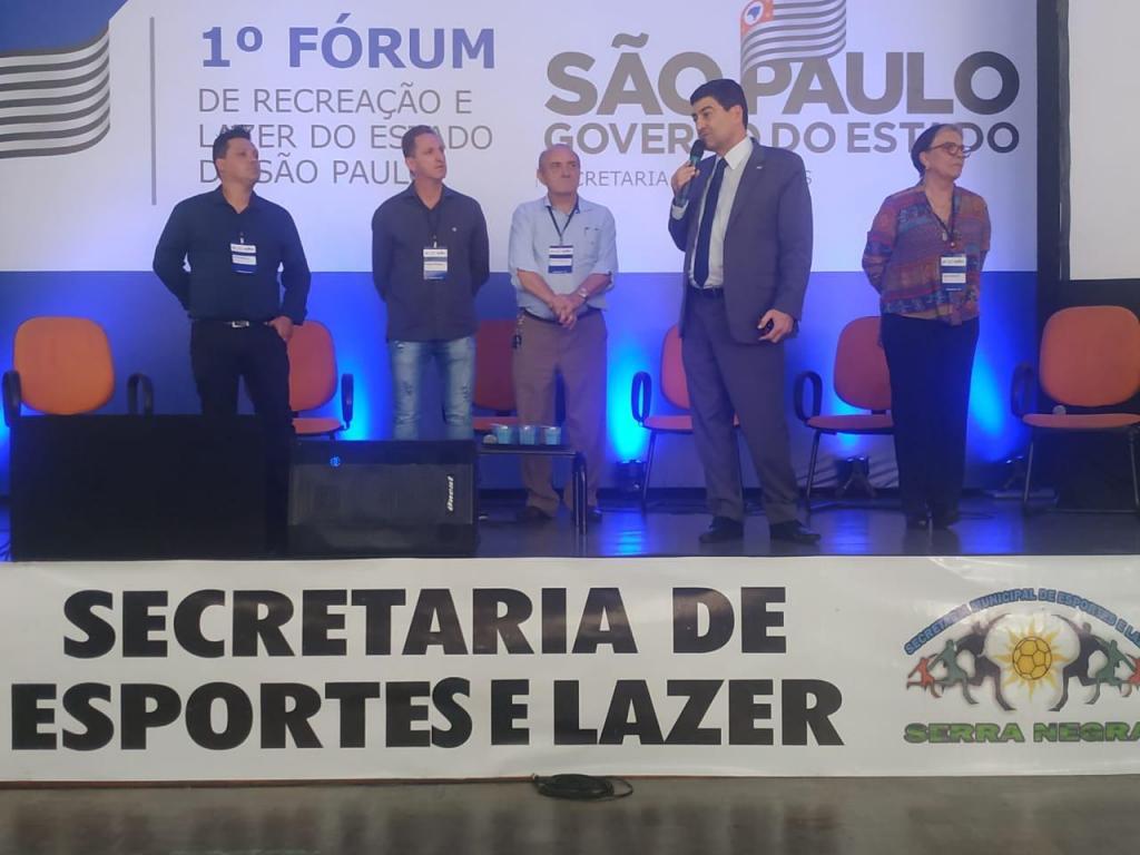 foto de 1º Fórum de Recreação e Lazer do estado de SP foi realizado em Serra Negra