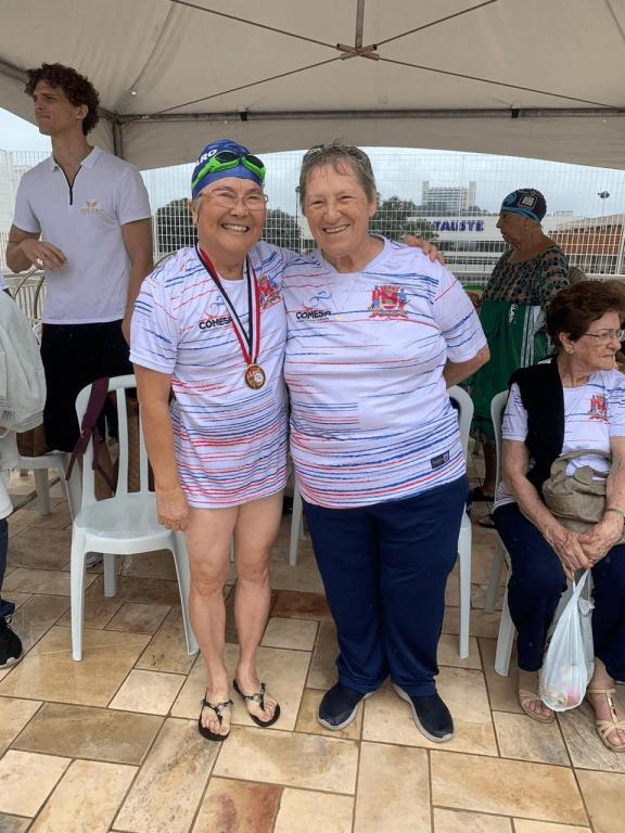 foto de Amparo tem nadadora entre as cinco melhores do Estado da Melhor Idade