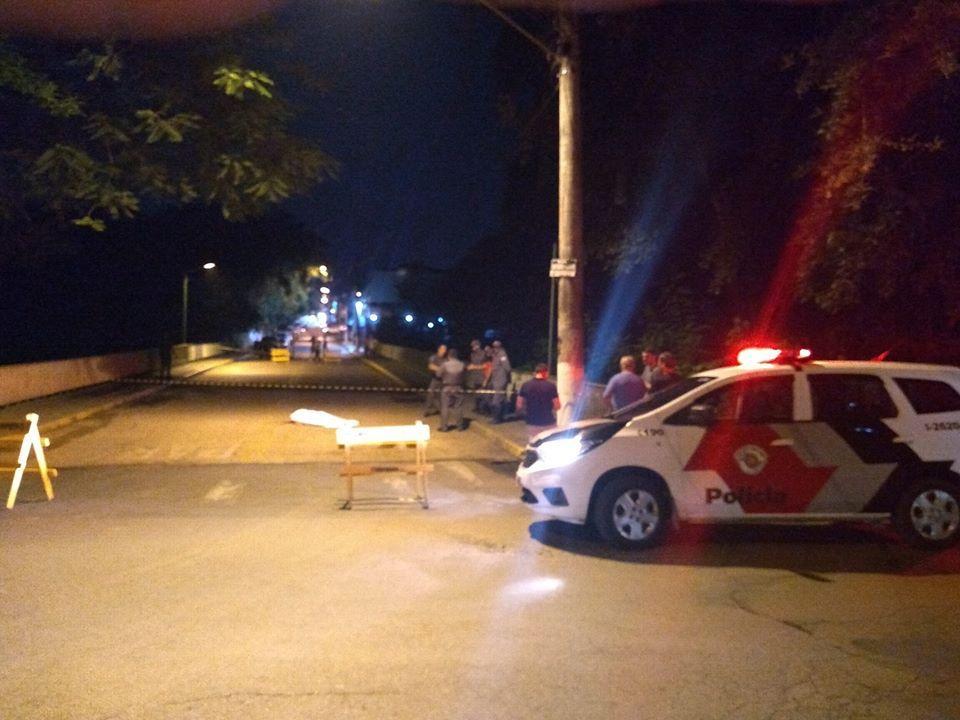 foto de Homem é morto na Ponte da Rua Antônio Pedro em Pedreira