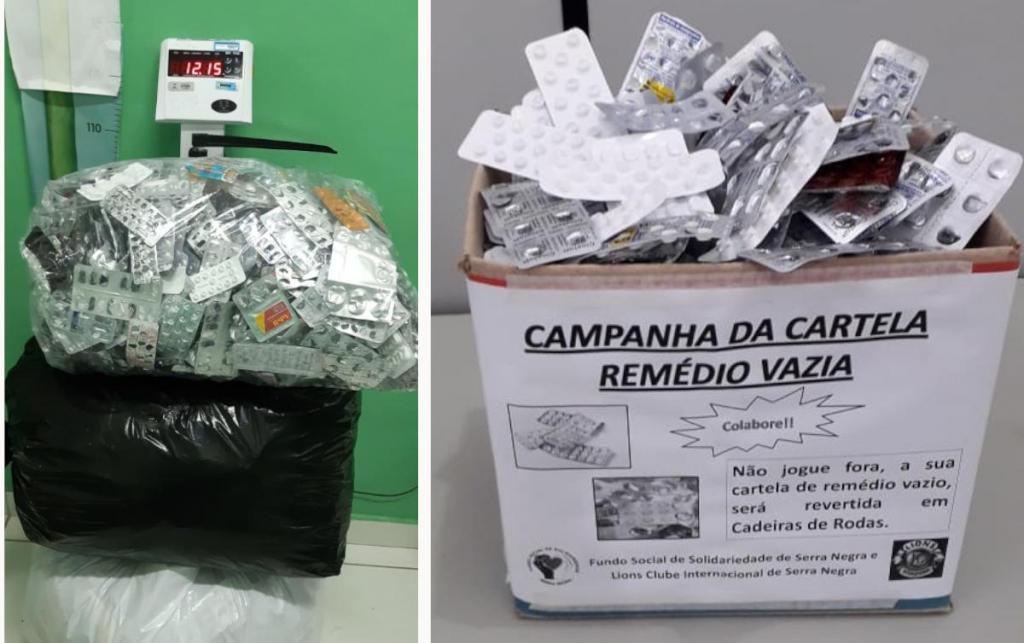 foto de Secretaria de Saúde adere à campanha \'Cartela Vazia\' e recolhe embalagens de remédios