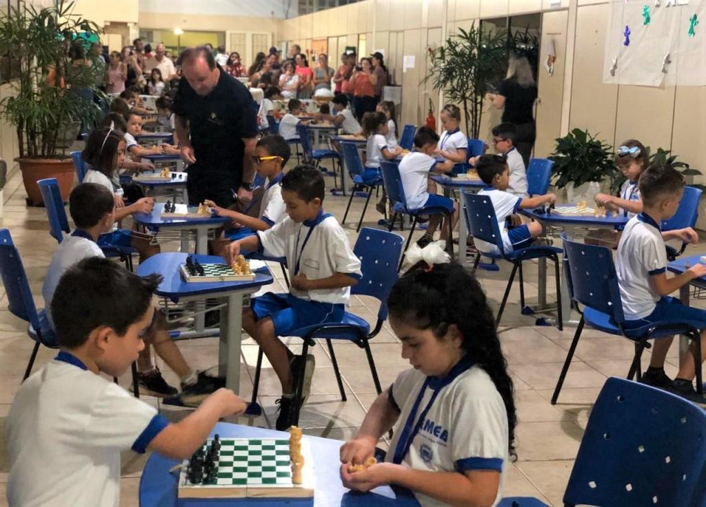 foto de Serra Negra contou com Campeonato de Xadrez das Escolas Municipais
