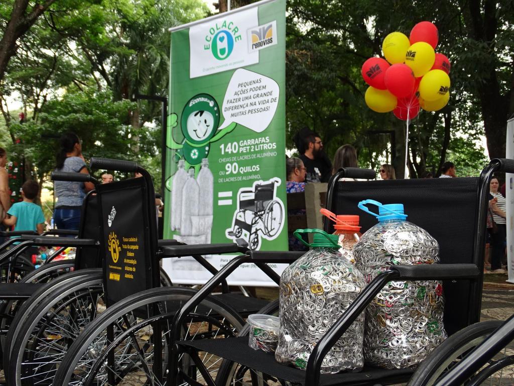 foto de Campanha Ecolacre: mais de  700 cadeiras de rodas entregues