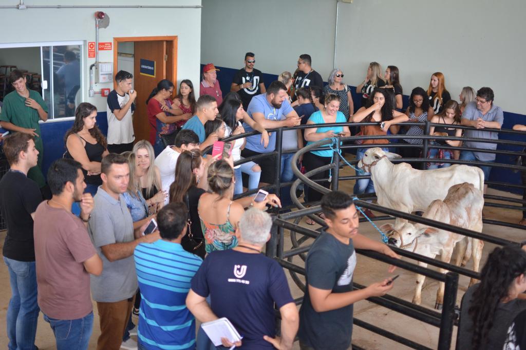 """foto de """"Um dia no Campus"""" da UniFAJ apresenta estrutura do curso de Medicina Veterinária a visitantes"""