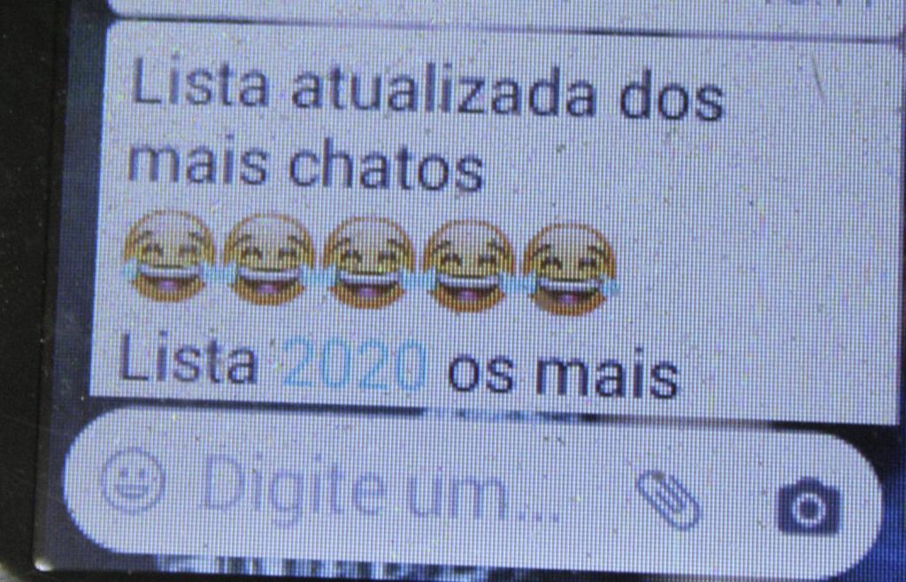 foto de Listas divulgadas pelo WhatsApp repercutem em Amparo