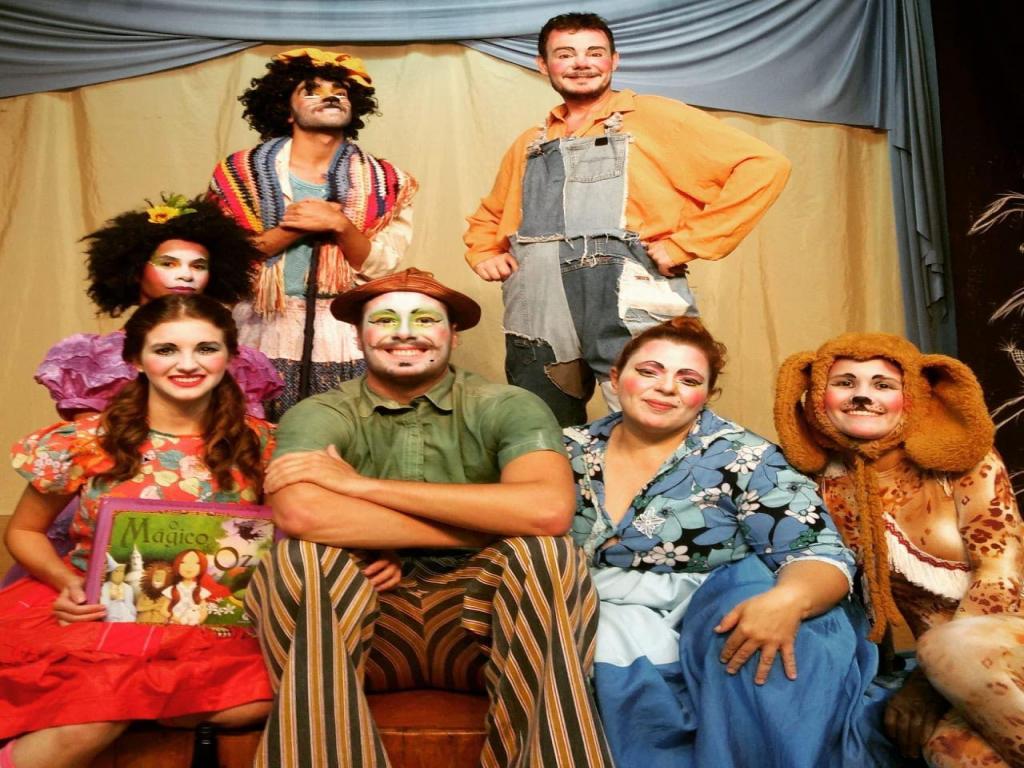 foto de O Mágico de Oz poderá ser visto na Casa do Teatro de Amparo